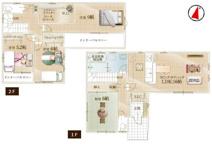 鴻巣市堤町の新築戸建【No.40327】の画像