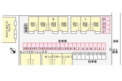 【区画図】ラグジュアリー Ⅱ