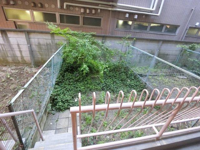 20.9平米の専用庭です。