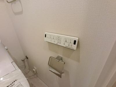 ウォーシュレットパネルスイッチです。