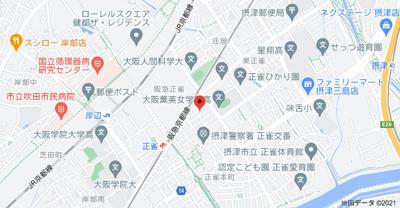 【地図】ヴェール摂津