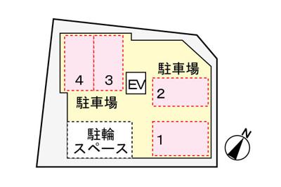 【駐車場】CALM覚王山