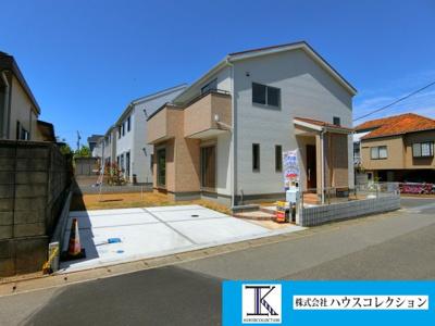 【前面道路含む現地写真】つくば市谷田部10期 新築戸建