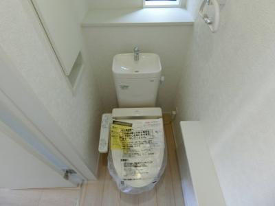 【トイレ】つくば市大砂第4 新築戸建