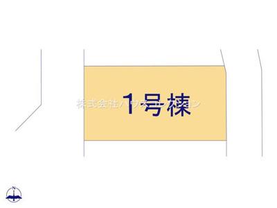 【区画図】つくば市大砂第4 新築戸建
