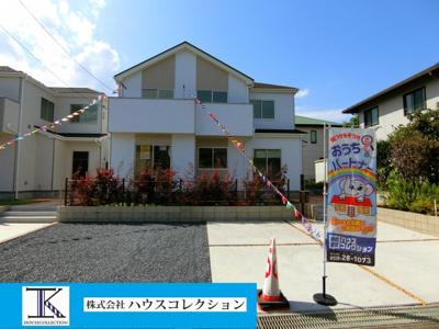 【外観】つくば市若葉Ⅱ 新築戸建 3号棟