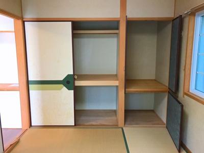 1階の和室の収納です♪