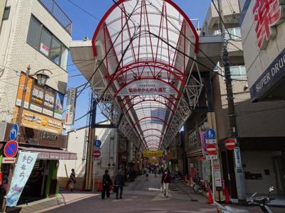 「弘明寺かんのん通り商店街」駅から帰りに買い物して来れます。