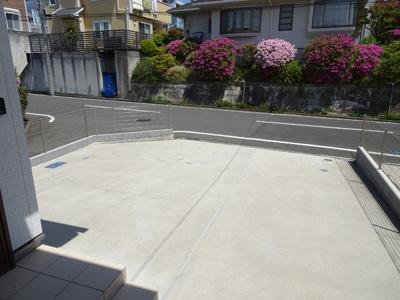 駐車場♪2台は楽々