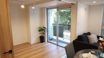 洋室6.0畳はリビングダイニングルームと繋がっており解放感ある部屋に