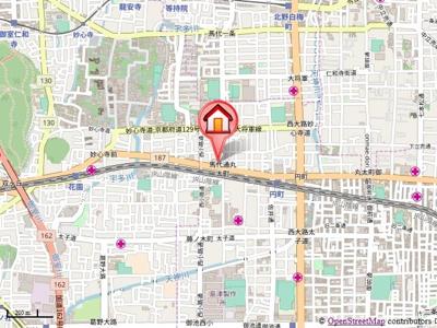 【地図】セントポーリア丸太町