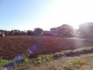 久喜市菖蒲町下栢間 建築条件なし売地 土地広々156坪