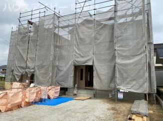 岐阜市守口町 新築建売全2棟 5月下旬完成予定 お車並列3台可能!収納スペース豊富な物件です♪