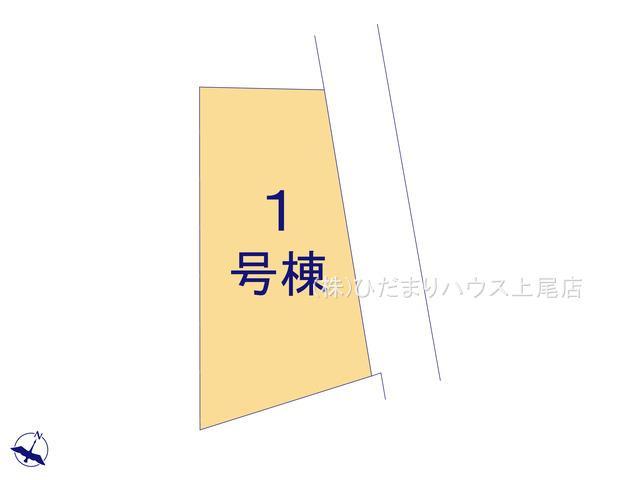 【区画図】上尾市平方 第5 新築一戸建て クレイドルガーデン 01