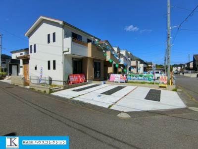 【外観】土浦市おおつ野8丁目 新築戸建 4号棟