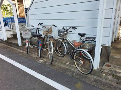 自転車置き場無料♪