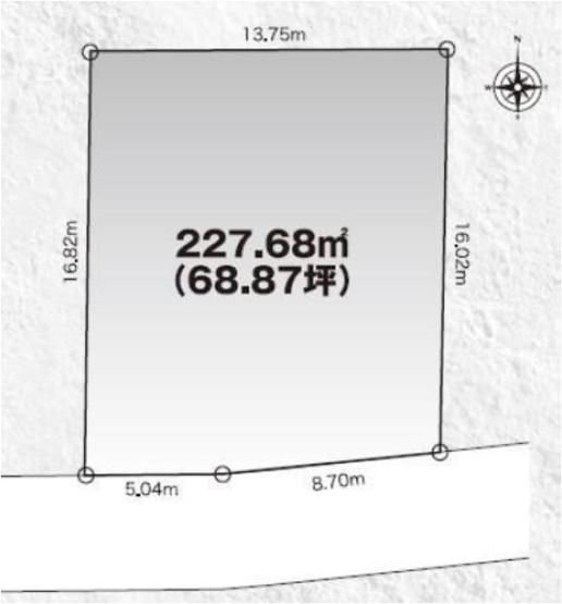 【土地図】見和3丁目土地