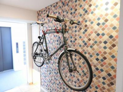 室内に自転車置けます♪