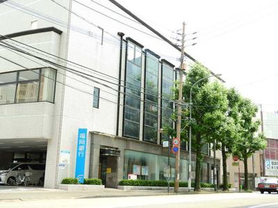 福岡銀行雑餉隈支店まで300m