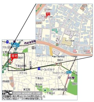 【地図】ヴェルステージ目白