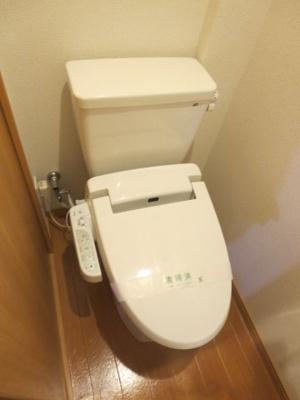あると助かる洗浄機能付トイレ