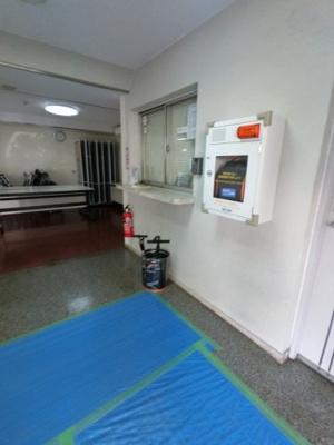 管理人室・AEDです。