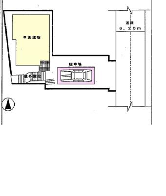 【区画図】戸建
