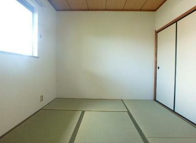 6.0畳の和室!