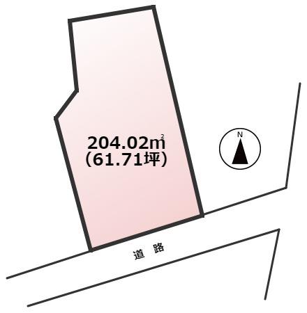 【土地図】宗像市鐘崎土地