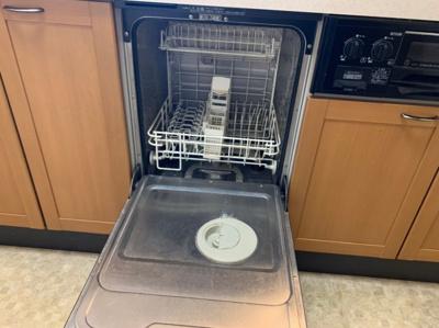 食器洗浄機も付いたシステムキッチンです。