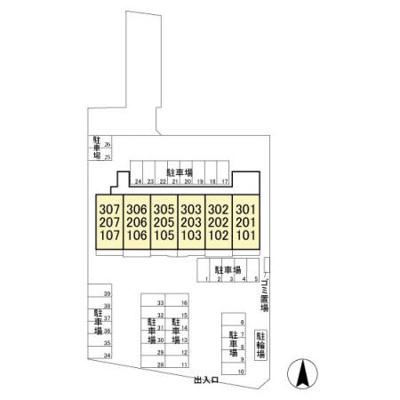 【区画図】ウィズマンション