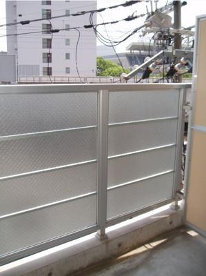【バルコニー】プライムタワー阿倍野40