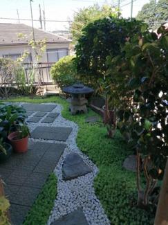 【庭】永楽台中古戸建て
