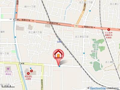 【地図】メゾン・ド・ブラン
