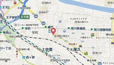 【地図】T.A北区上中里3丁目A棟