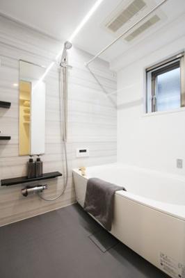 【浴室】パルス門前仲町アネスタージュ 専用庭付 リフォーム済