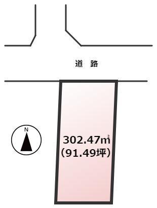 【土地図】宗像市日の里3丁目土地