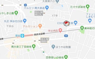 【地図】レオパレスシェ ヴー(40757-103)
