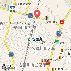 【地図】グランアルブルA