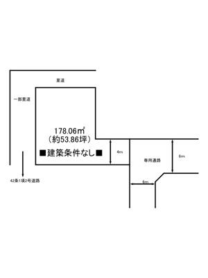 【区画図】たつの市誉田町福田/土地