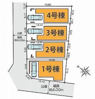 【区画図】杉並区和田1丁目