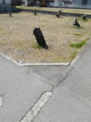 【前面道路含む現地写真】南アルプス市有野68坪売地
