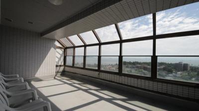 最上階の共有展望空間