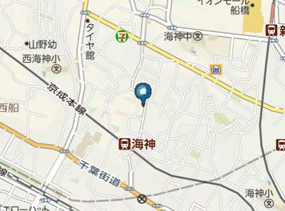 【地図】オリーブ海神(オリーブカイジン)
