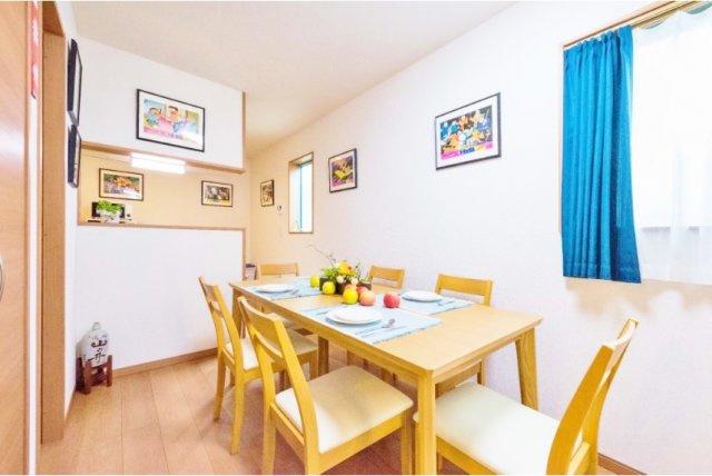 家族の集うLDKは16.0帖 床暖房も完備されご家族の憩いの空間となります