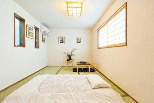 3階7.5帖居室 全室2面採光で暖かな光と気持ちの良い風を享受いたします