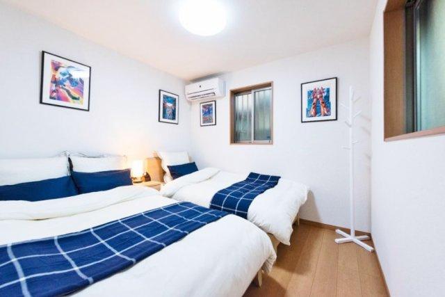 1階6.1帖洋室 全室6帖以上のゆとりある邸宅 プライベート空間をしっかり確保した間取りです