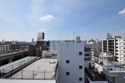 【外観】ソルフィエスタ両国 9階 角 部屋 2004年築 空室