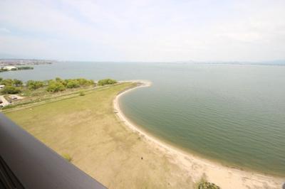 売主様提供、琵琶湖の眺め