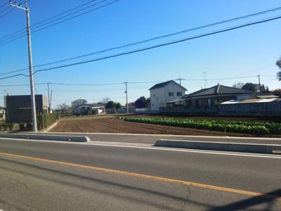 【前面道路含む現地写真】深谷市針ケ谷字東谷984-2